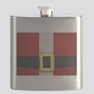 Santa Suit Christmas Flask