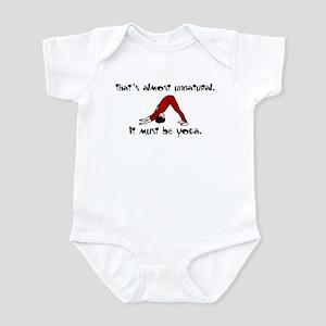 Unnatural Yoga Infant Bodysuit