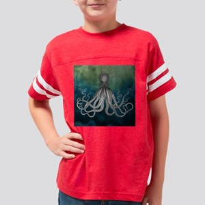 Octopus shower curtain Youth Football Shirt