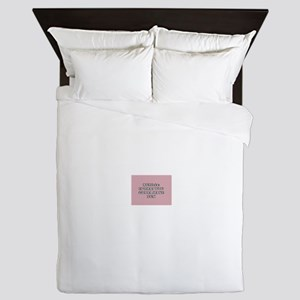 rule #1 is that you gotta have fun Queen Duvet