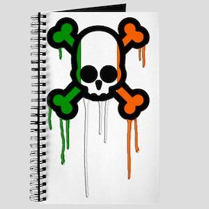 Irish Punk Skull Journal