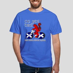 Scottish Lion Cycling Fun T-Shirt