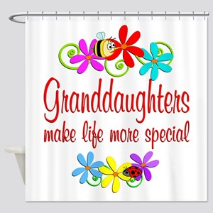 Special Granddaughter Shower Curtain