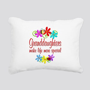 Special Granddaughter Rectangular Canvas Pillow