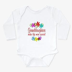 Special Granddaughter Long Sleeve Infant Bodysuit
