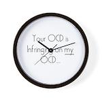 Your OCD..My OCD Wall Clock