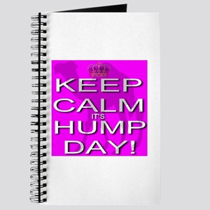Keep Calm It's Hump Day! Journal