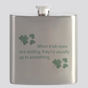 when irish eyes are smiling they're usua Flask