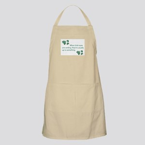 when irish eyes are smiling they'r Light Apron