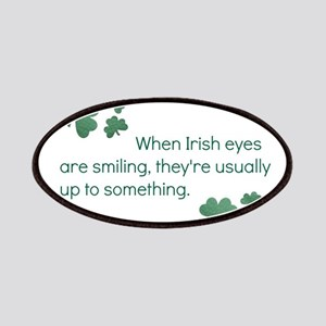 when irish eyes are smiling they're usua Patch