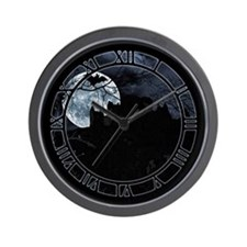 Spooky Night Sky Wall Clock
