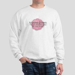 Nursing School Boot Camp Sweatshirt