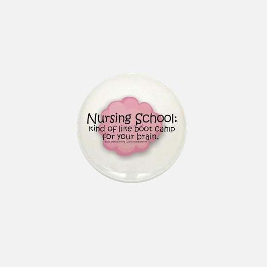 Nursing School Boot Camp Mini Button