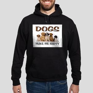 DOG HAPPY Hoodie