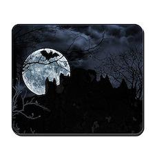 Spooky Night Sky Mousepad