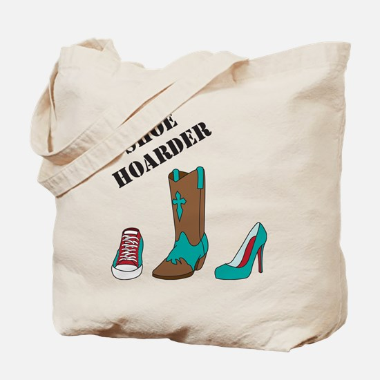 Shoe Hoarder Tote Bag