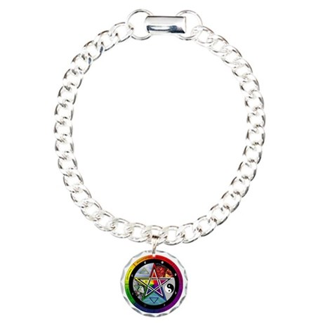 Wheel of the Year Charm Bracelet, One Charm