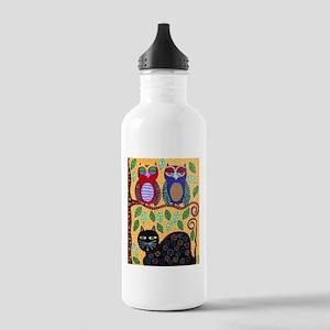 Autumn owls Water Bottle