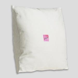 feminist Burlap Throw Pillow