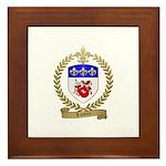 LOISIER Family Crest Framed Tile