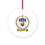LOISIER Family Crest Ornament (Round)