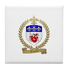 LOISIER Family Crest Tile Coaster