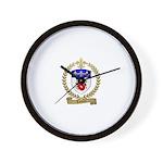 LOISIER Family Crest Wall Clock