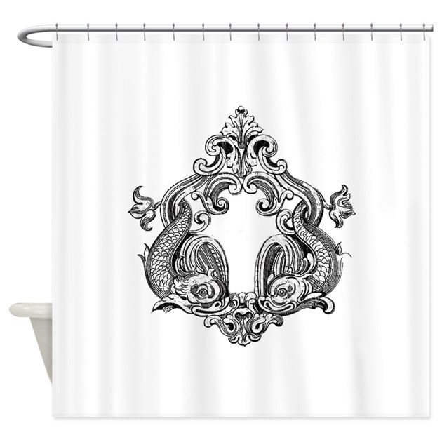 fish shower curtain koi fish duet shower curtain by taudreydesigns 10383