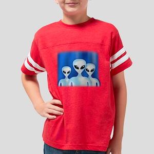 GREY ALIEN Youth Football Shirt