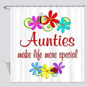 Special Auntie Shower Curtain