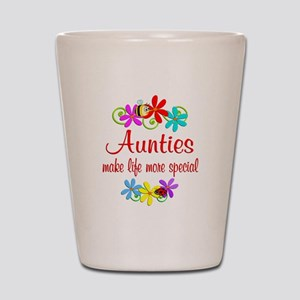 Special Auntie Shot Glass