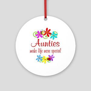 Special Auntie Ornament (Round)