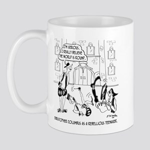Columbus as a Rebellious Teenager Mug