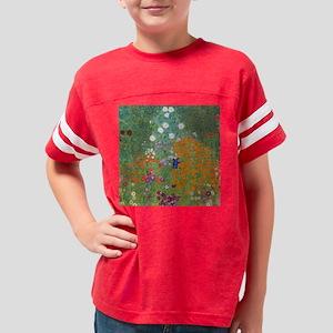 Flower Garden Youth Football Shirt