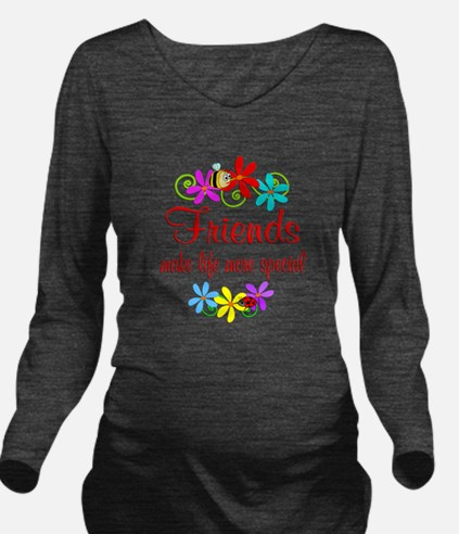 Special Friend Long Sleeve Maternity T-Shirt