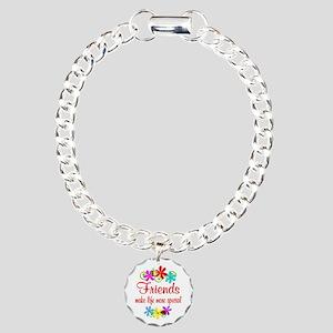 Special Friend Charm Bracelet, One Charm