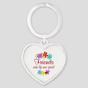 Special Friend Heart Keychain