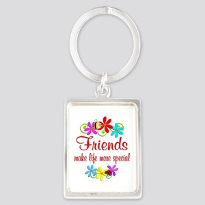 Special Friend Portrait Keychain