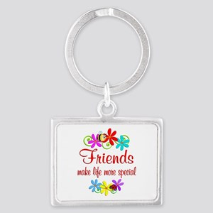 Special Friend Landscape Keychain