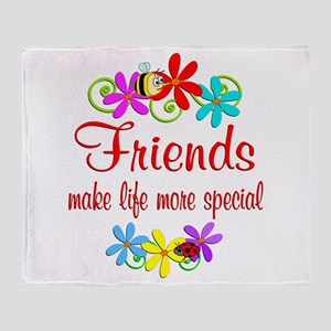 Special Friend Throw Blanket