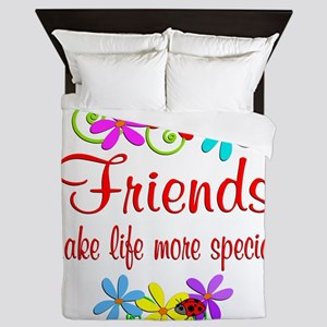 Special Friend Queen Duvet