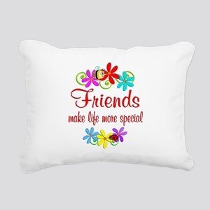 Special Friend Rectangular Canvas Pillow