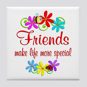 Special Friend Tile Coaster