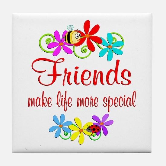 Special Friend Tile Coaster