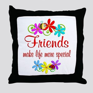 Special Friend Throw Pillow