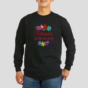 Special Friend Long Sleeve Dark T-Shirt
