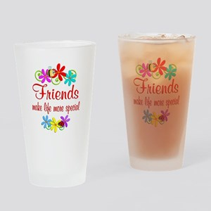 Special Friend Drinking Glass