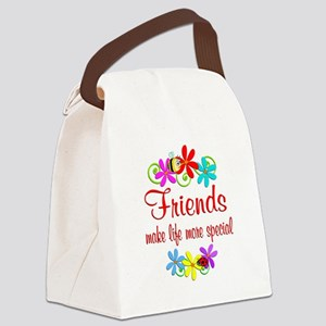 Special Friend Canvas Lunch Bag