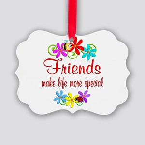 Special Friend Picture Ornament