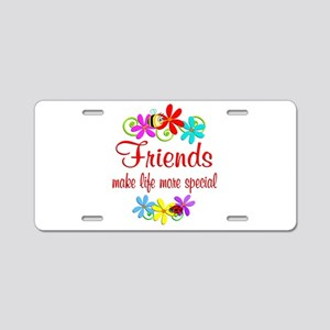 Special Friend Aluminum License Plate